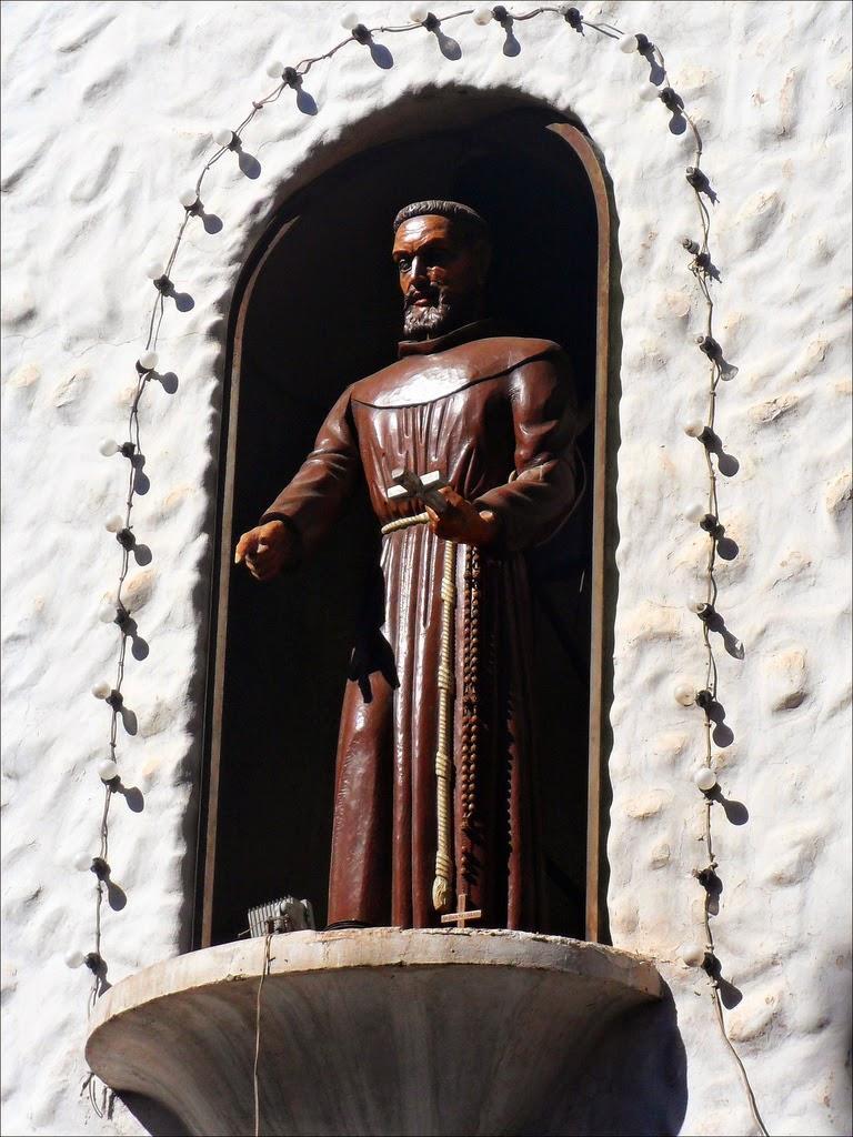 San Francisco Solano at Humahuaca's church tower