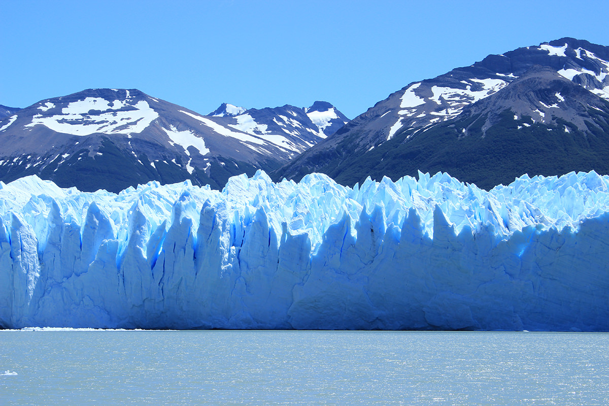 Patagonia photography Perito Moreno glacier water lake tour