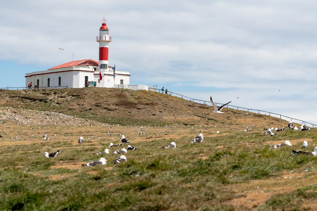 Isla Magdalena light house and trail.