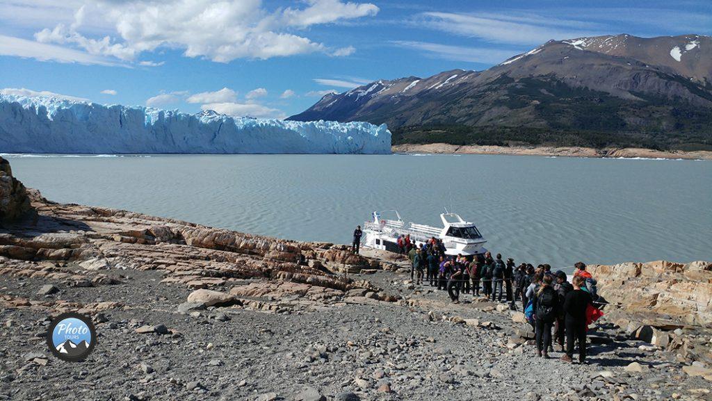 Glaciar_Perito_Moreno Lake crossing